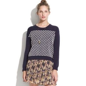 Madewell Wallace candydot sweater